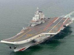 Китаю впервые удалось посадить истребитель на авианосец