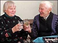 102-летний литовец Станисловас Григас стал женихом