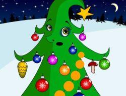 Новогодняя флэшка: Поздравление от елки