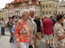 Центр Праги закрывают для автомашин