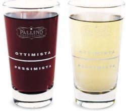 Пессимист или оптимист - определить это помогут стаканы от Pallino