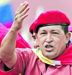 Главный лозунг нового латиноамериканского героя Уго Чавеса - «Отечество, социализм или смерть!».