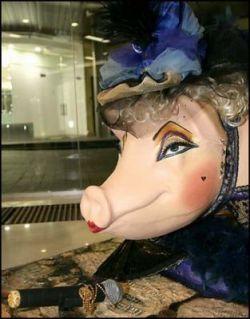 """В Киеве состоялся \""""Pig Parade 2007\"""" - аукцион самых красивых свиней (фото)"""