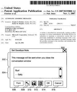 Microsoft патентует фразу «до свидания»