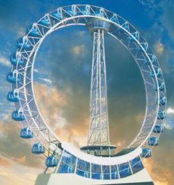 Китайцы строят крупнейшее в мире колесо обозрения