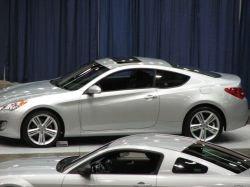 Первые фото концепта Hyundai Genesis Coupe