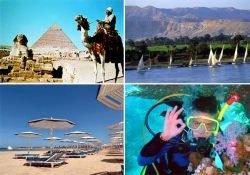 Отдохнуть в Египте не смогли 20 % россиян, купивших путевки