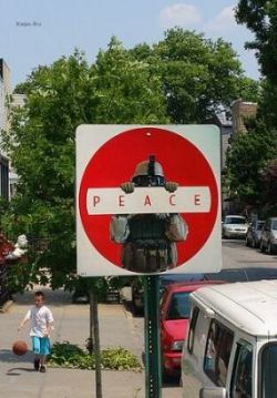 Креативные дорожные знаки на улицах Копенгагена и Лондона (фото)