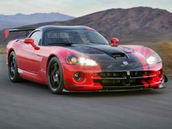 Dodge представил экстремальную версию суперкара Viper SRT-10