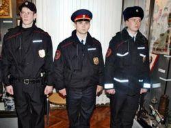 Российские милиционеры примерили новую форму