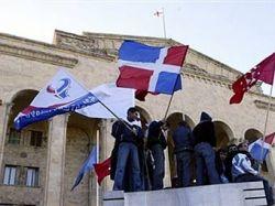 Грузинский парламент продлил чрезвычайное положение на две недели