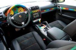 «Конопляный» Porsche Cayenne Turbo - шедевр тюнинга (фото)