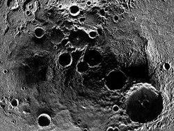 Новость на Newsland: MESSENGER сфотографировал северный полюс Меркурия