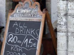 В Эстонии предложили ввести  безалкогольные дни