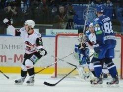 Клуб КХЛ прервал серию из 14 поражений подряд