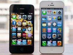 В России iPhone 5 уже теряет популярность?