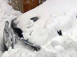 Сильные снегопады доставили немало хлопот жителям Европы