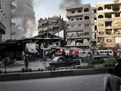 В Сирии оппозиция отрезала аэропорт Дамаска от столицы