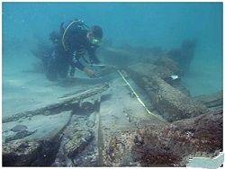 Следы кораблекрушения 19 века обнаружены в Израиле