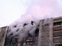 Пожар в многоэтажном доме в Томске локализован