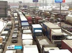 Собянин и Воробьёв договорились по движению грузовиков на МКАД