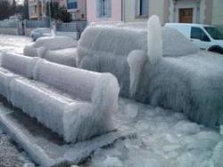 Москва ушла под лёд