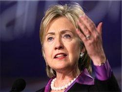 Клинтон осудила строительство новых еврейских поселений