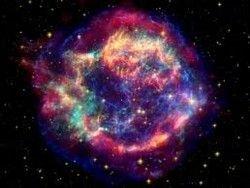 Ученые получили изображение взрыва сверхновой
