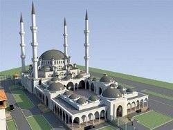 В Симферополе пытались взорвать стройку Соборной мечети