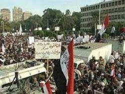 Соратники Мохаммеда Мурси вышли на митинг в Каире