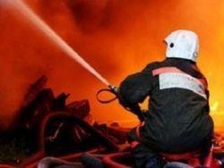 Крупный пожар произошёл в Приморье