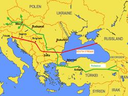 Турция просит увеличить поставки газа из России