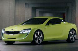 Концепт-кар Kia Kee Coupe Concept разбили во время перевозки на автосалон
