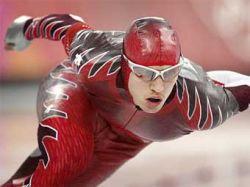 Канадский конькобежец Джереми Уотерспун установил мировой рекорд на самой короткой дистанции