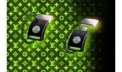 Элитная USB-флэшка с часами и замком из серии дорогих флэш-накопителей LV USB Design
