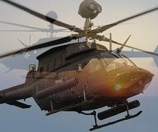 Близ побережья южной части Калифорнии потерпел крушение вертолет ВМС США HH-60H Seahawk