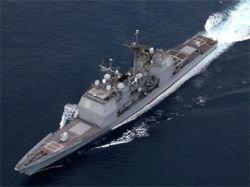 Во время проведения ремонтных работ в доке на американском крейсере  USS Lake Champlain произошел взрыв