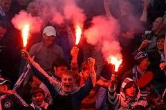 Фанатские разборки по–сербски