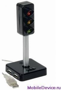 USB-хаб в виде светофора USB Traffic Light покажет ваше настроение