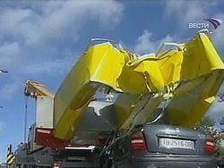 """Ущерб от урагана \""""Тило\"""" исчисляется миллионами евро"""