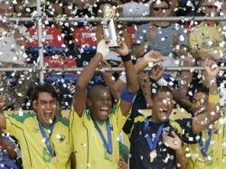 Сборная Бразилии по пляжному футболу выиграла золотые медали чемпионата мира