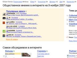Русскоязычная блогосфера выросла в 2,6 раза за год