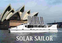 Компания Solar Sailor совместила парус с солнечными батареями