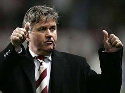 Гус Хиддинк посоветовал англичанам не питать надежд в финальном турнире Чемпионата Европы-2008