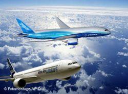 Boeing и Airbus получили заказы на $82 млрд на авиасалоне в Дубае