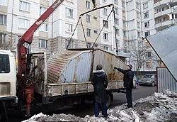 «Ракушка» на память: столичные власти снова объявили бой металлическим тентам