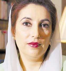 Беназир Бхутто считает, что Первез Мушарраф должен уйти с поста президента