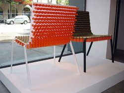 Кресло из патронов от дизайнера Александра Рих (Alexander Reh) (фото)