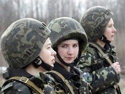 Госдума готовит закон о призыве женщин на срочную службу