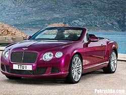 Новость на Newsland: Bentley предоставила новый 2013 Continental GT Speed